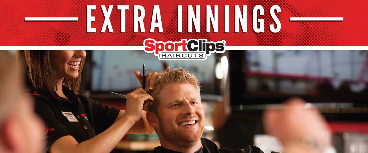 The Sport Clips Haircuts of Manhattan  Extra Innings Offerings
