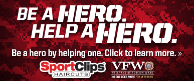 Sport Clips Haircuts of Manhattan ​ Help a Hero Campaign